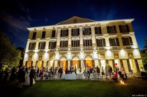 Facciata Villa Notte